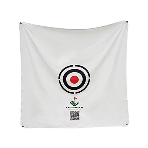 FUNGREEN 1.5×1.5M Golf Hitting Target Cloth for Golf Practice Indoor Training Outdoor Court Hitting Net Golf Target Pad Golf Accessories