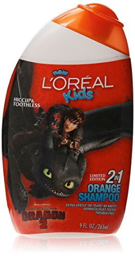 LOreal Trolls Orange Shampoo Packaging
