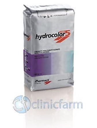 ALGINATO de colores para huella de odontólogo odontotecnico ZHERMACK HYDROCOLOR 5: Amazon.es: Industria, empresas y ciencia