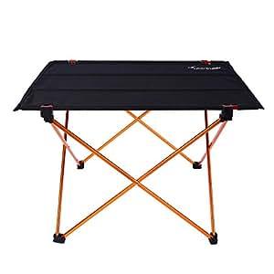 Surprising Amazon Com Sportneer Portable Camping Table Lightweight Theyellowbook Wood Chair Design Ideas Theyellowbookinfo