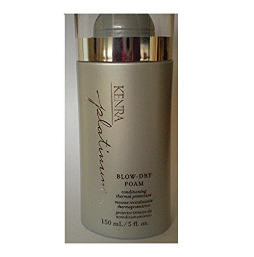 Kenra Platinum Blow Dry Foam Conditioning Thermal Protectant 5 oz by Kenra