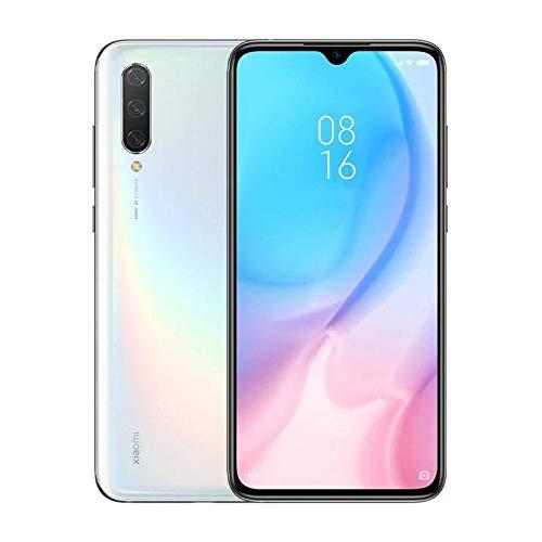 Xiaomi Mi 9 Lite 128GB + 6GB RAM, 6.39' AMOLED FHD+ LTE 48MP AI Triple Camera Factory Unlocked Smartphone - Global Version (Pearl White)
