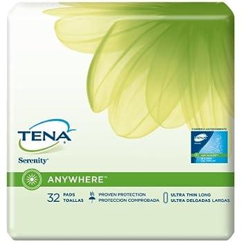 TENA Serenity Bladder Control Pads, Tena Ultr Thn Pad-Hvy Absbncy, (1 CASE, 128 EACH)