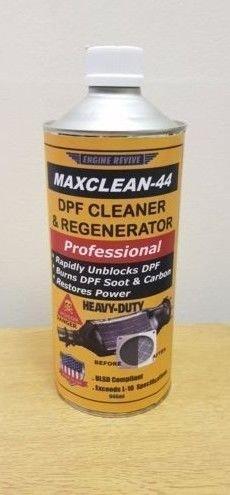 MAXCLEAN-44 DPF CLEANER & REGENERATOR ENGINE REVIVE