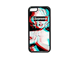 CSKFUSupreme Marilyn Monroe 3D iphone 6 4.7 inch iphone 6 4.7 inch Black Cell Phone Case