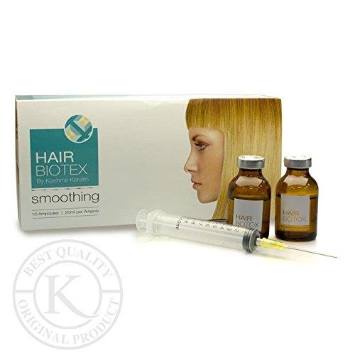 Kashmir Keratin Systems Hair Biotex Full Treatment Kit  plus 10 Ampules