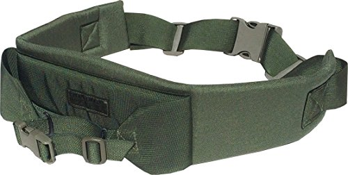 Fire Force A.L.I.C.E. Pack Kidney Pad with Waist Strap and Frame attaching Belt LC-2 Kidney Pad Made in USA (Camo Green)