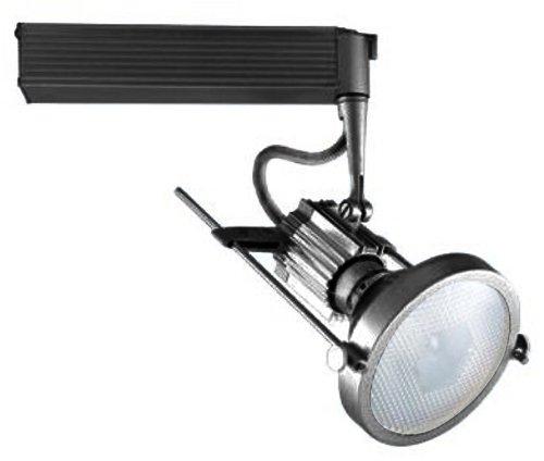Jesco Lighting HMH901P20201B Contempo 901 Series Metal Halide Track Light Fixture, PAR20, 20 Watts, Black -