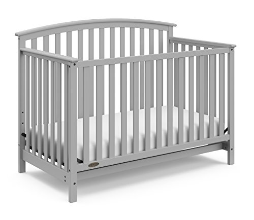 Graco Freeport 4-in-1 Convertible Crib, Pebble Gray