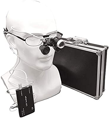 HZYWL LED Dental Head Light Medical HD Gafas quirúrgicas ...