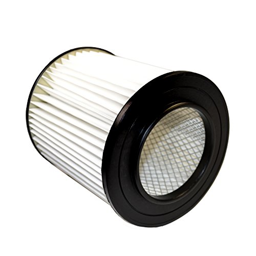 """HQRP 7"""" Filter for VACUFLO FC300, FC550, FC650, FC310, FC520, FC530, FC540, FC610, FC620, FC670 H-P Central Vacuum Systems, 8106-01 Replacement Coaster"""
