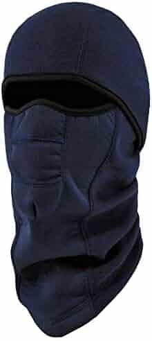 Ergodyne N-Ferno 6823 Winter Balaclava Ski Mask, Wind-Resistant Face Mask, Thermal Fleece, Navy