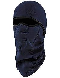 N-Ferno 6823 Winter Balaclava Ski Mask, Wind-Resistant Face Mask, Thermal Fleece, Navy