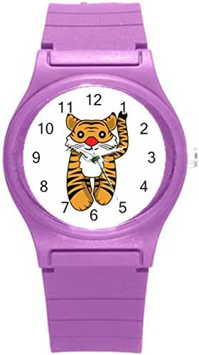 Kidozooo Boys Girls Cartoon Tiger Wild Animal 1 3/8