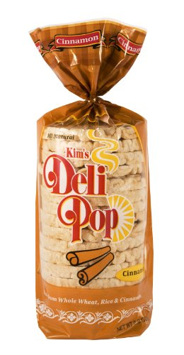 Kim's Deli Pop 12-Pack: Freshly Popped Rice Cakes, Healthy Grain Snack, 0 Weight Watchers Point