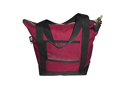 Deposit Bag Bank Bag Documents Or Courier With 2 Pop Lock  2 Keys  Made In Usa  Maroon