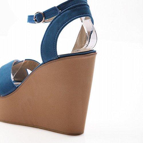 E Con Caviglia Shoes Alla Carol Zeppa Sandalo Cinturino FYqAHIwS