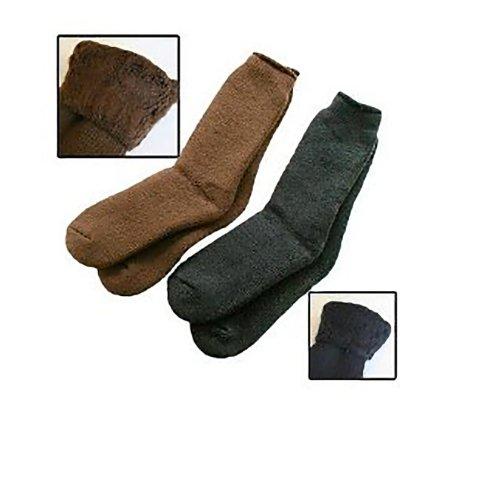 35° Below Socks - Black, Large