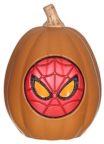 Marvel Spider-Man Light Up Pumpkin ()