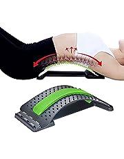 Lumbale rug Massager, Rug Stretcher Hand, Rugmassage Ondersteuning Houding, Rugbrancard, Comfortabele Rugbrancard, Pijn Acupunctuur Rugmassage Massager, Rugstretching voor Rugpijn en Ontspanning