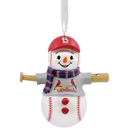 Hallmark MLB St. Louis Cardinals Snowman Ornament Sports & Activities,City & State