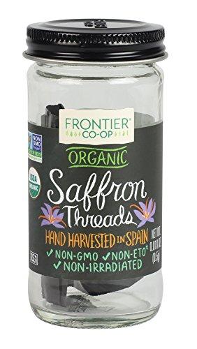 Frontier Co-op Saffron Certified Organic, 0.01 Ounce by Frontier Co-op