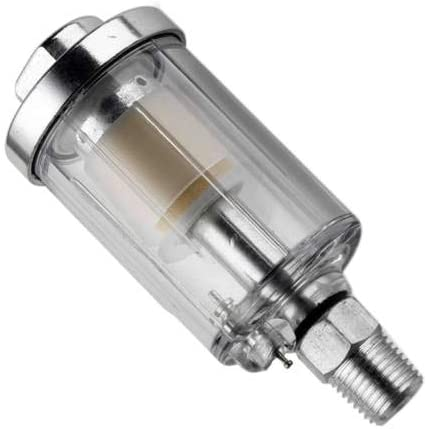 Gaoominy 1//4 Zoll Luft Kompressor Pneumatischer Staub Filter ?l Wasser Abscheider 90Psi