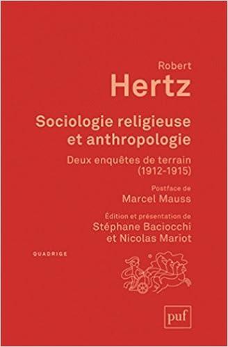 Téléchargement de livres électroniques en ligne Sociologie religieuse et anthropologie PDF RTF DJVU