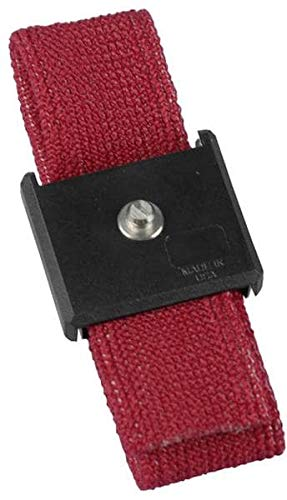 Anti-Static Control Products WRISTBAND ONLY ADJ ECON 4mm Pack of 10 (809-9035)