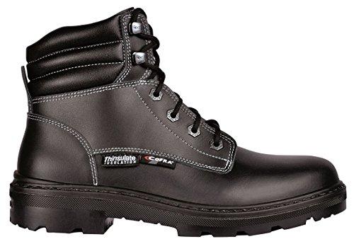 Cofra 25551-000.W43 Sioux Bis S3 Ci SRC Chaussures de sécurité Taille 43 Noir
