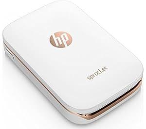 HP Sprocket Photo Printer (White) Instant. Shareable. Fun. Z3Z91A