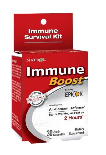 Natrol Boost Immune, 30 Capsules rapide