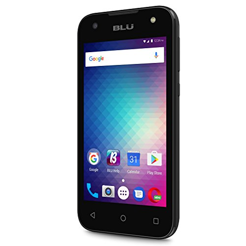 BLU Advance A4 -Unlocked Dual Sim Smartphone -Black by BLU