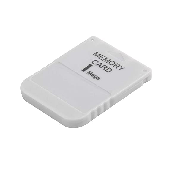PS1 Memory Card 1 Mega Memory Card For Playstation 1 One PS1 PSX Game  Useful(Color:White)
