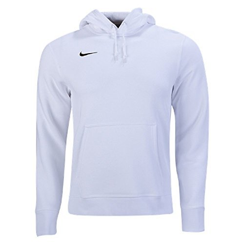 Nike Men's Sportswear Pullover Fleece Club Hoodie White