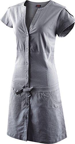 Hannah gray Größe grau Claire Kleid in charcoal 36 fTpwrxfHqn