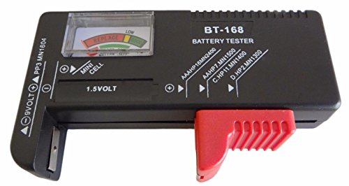 Universal Charger Tester Checker AA AAA 9V Button - 8