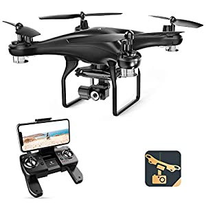 Flashandfocus.com 41fojrSxd3L._SS300_ SNAPTAIN SP600N GPS Drones with Camera for Adults w/2-Axis Gimbal and 2K HD Camera, Drone for Beginners with Smart…