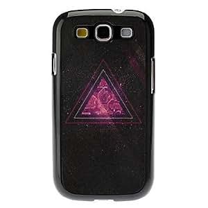 conseguir Triángulo Caso duro del patrón para Samsung Galaxy S3 I9300
