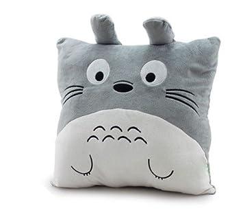 Para sofá o/en forma de cubo para/office accesorios 40 cm brazos de peluche almohada cojín Totoro Estilo