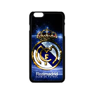 Realmadrid Club Of Futbol Fashion Comstom Plastic case cover For Iphone 6