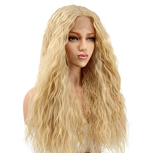 ALICE Blonde Wigs Loose Curly 24