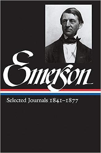 8d417d9dad1e Amazon.com: Ralph Waldo Emerson: Selected Journals 1841-1877 ...