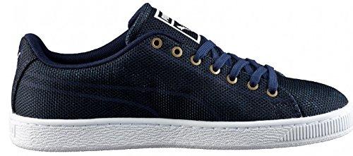 Blu Basket Peacoat Classic Puma Navy Sneaker Woven Uomo 4YwFc1Aq