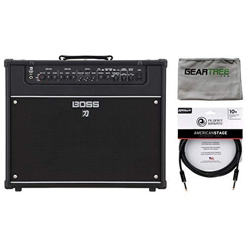 - Boss Katana-Artist 100-watt 1x12 Guitar Combo Amplifier w/Polish Cloth and Cabl