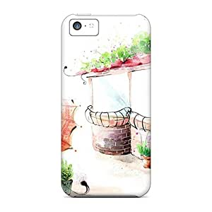 Fashion YSb5681UVvx Cases Covers For Iphone 5c(coffee Shop)