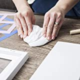 HopTot Newborn Baby Handprint Footprint Photo Frame Kit Photo Album Memory For Baby Boys Girls Baby Shower Registry Idea Nursery Wall Decor Must Have Decoration Set For New Moms