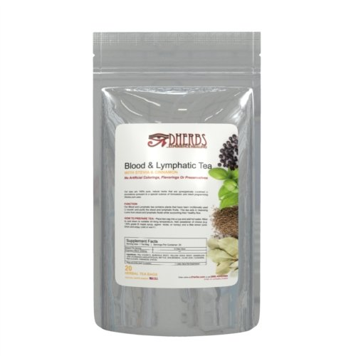 Dherbs Blood Lymphatic Tea Grams product image