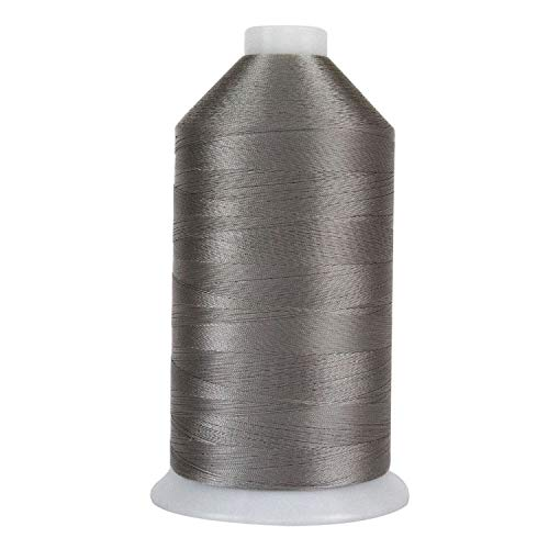 Superior Threads No.69 Solar Guard Bonded Polyester Sewing Thread, Metal Gray