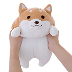 I am a soft Shiba Inu that feels very elastic and is the best gift for children, couples and friends. You can see me in every place you like, suitable for bedroom, living room, family, office, etc. ★office pillows: ease work fatigue and give ...